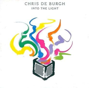 CHRIS DE BURGH Into The Light LP Vinyl Record Album 33rpm Portugese A&M 1986