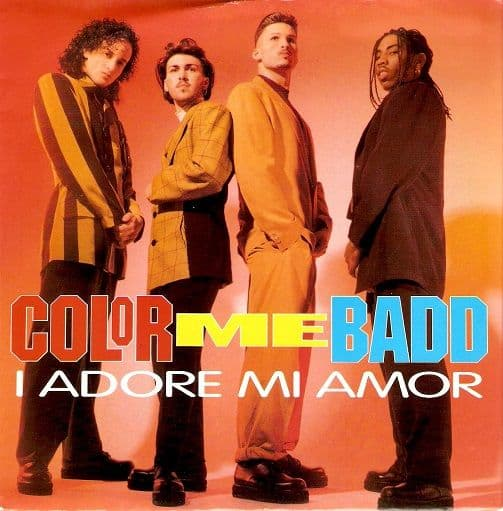 COLOR ME BADD I Adore Mi Amor Vinyl Record 7 Inch Giant 1991
