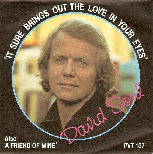 DAVID SOUL It Sure Brings Out The Love In Your Eyes Vinyl Record 7 Inch Private Stock 1978