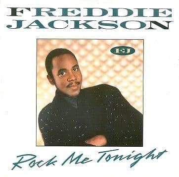 "FREDDIE JACKSON Rock Me Tonight 12"" Single Vinyl Record Capitol 1985"