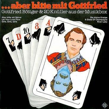 GOTTFRIED BOTTGER Aber Bitte Mit Gottfried LP Vinyl Record Album 33rpm German Telefunken 1976