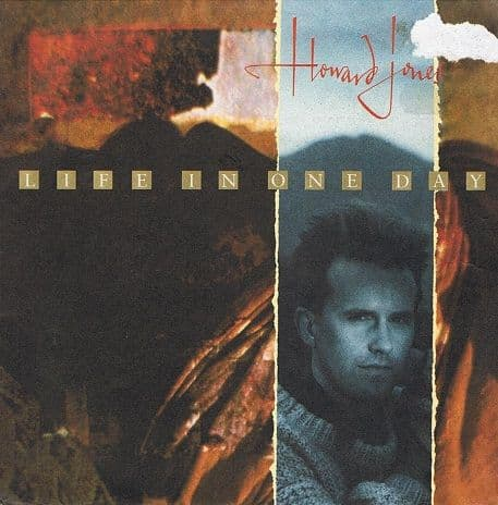 "HOWARD JONES Life In One Day 7"" Single Vinyl Record 45rpm Poster Sleeve WEA 1985"
