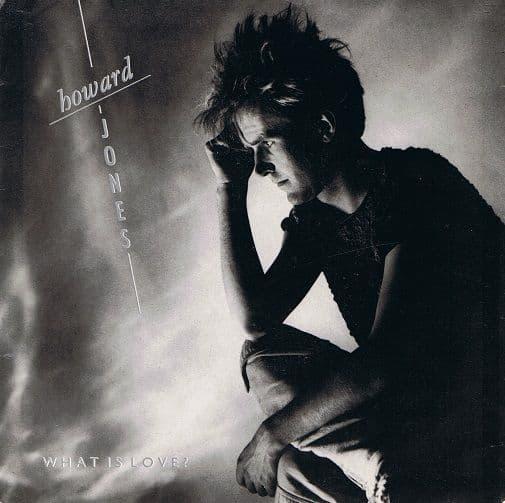 "HOWARD JONES What Is Love? 7"" Single Vinyl Record 45rpm WEA 1983"