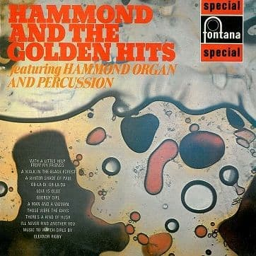 Hammond And The Golden Hits LP Vinyl Record Album 33rpm Fontana 1969