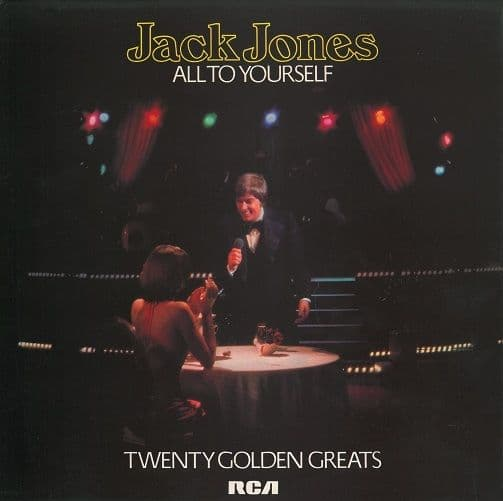 JACK JONES All To Yourself Vinyl Record LP RCA Victor 1977