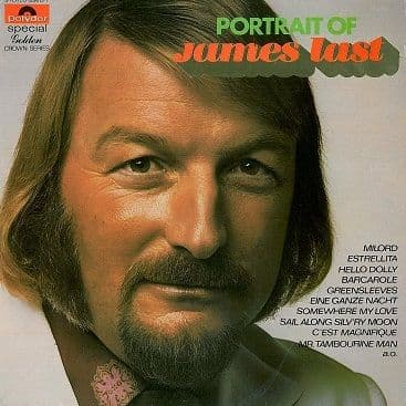 JAMES LAST Portrait Of James Last LP Vinyl Record Album 33rpm Dutch Polydor