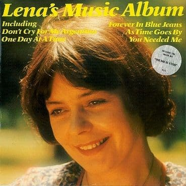 LENA MARTELL Lena's Music Album LP Vinyl Record Album 33rpm Pye 1979