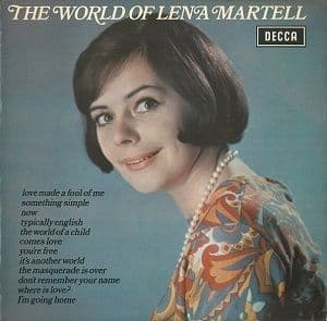 LENA MARTELL The World Of Lena Martell Vinyl Record LP Decca 1972