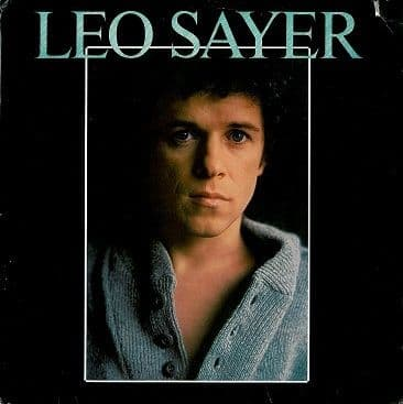 LEO SAYER Leo Sayer LP Vinyl Record Album 33rpm US Warner Bros. 1978