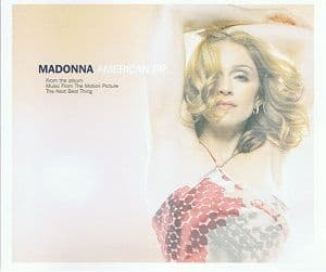 MADONNA American Pie CD Single Maverick 2000