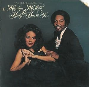 MARILYN McCOO AND BILLY DAVIS, JR. I Hope We Get To Love In Time Vinyl Record LP US ABC 1976