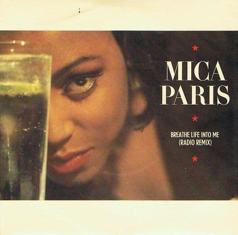 "MICA PARIS Breathe Life Into Me 7"" Single Vinyl Record 45rpm 4th And Broadway 1988"