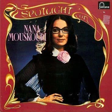 NANA MOUSKOURI Spotlight On Nana Mouskouri 2LP Vinyl Record Album 33rpm Fontana 1973