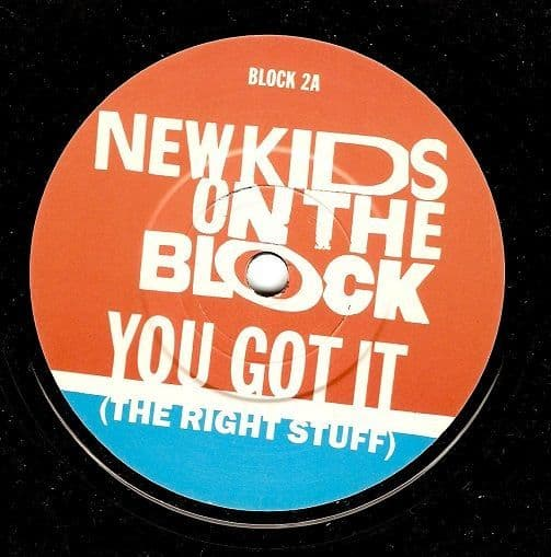 NEW KIDS ON THE BLOCK You Got It (The Right Stuff) Vinyl Record 7 Inch CBS 1988