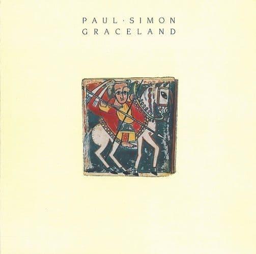 PAUL SIMON Graceland Vinyl Record LP Warner Bros. 1986