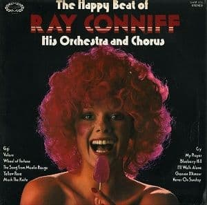 RAY CONNIFF The Happy Beat Of Ray Conniff Vinyl Record LP Hallmark