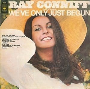 RAY CONNIFF We've Only Just Begun Vinyl Record LP CBS 1970