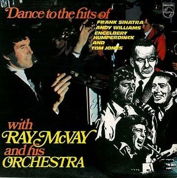 RAY McVAY Dance To The Hits Of LP Vinyl Record Album 33rpm Philips 1970