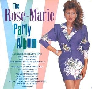 ROSE MARIE The Rose Marie Party Album Vinyl Record LP Telstar 1989