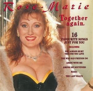 ROSE MARIE Together Again Vinyl Record LP Telstar 1988