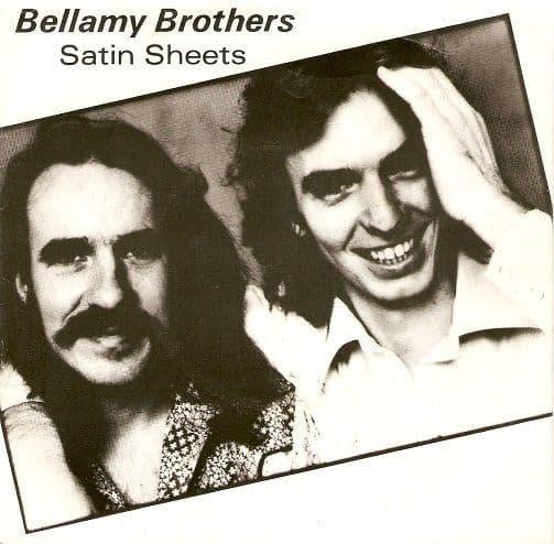 THE BELLAMY BROTHERS Satin Sheets Vinyl Record 7 Inch Warner Bros. 1976