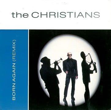 "THE CHRISTIANS Born Again (Remix) 12"" Single Vinyl Record Island 1987"