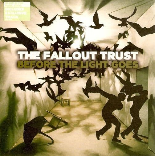 THE FALLOUT TRUST Before The Light Goes Vinyl Record 7 Inch At Large 2005 Clear Vinyl