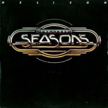 THE FOUR SEASONS (4 SEASONS) Helicon LP Vinyl Record Album 33rpm Warner Bros. 1977