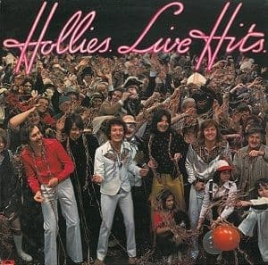 THE HOLLIES Hollies Live Hits Vinyl Record LP Polydor 1976