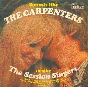 The Session Singers Sounds Like The Carpenters Vinyl Record LP Contour 2870-362