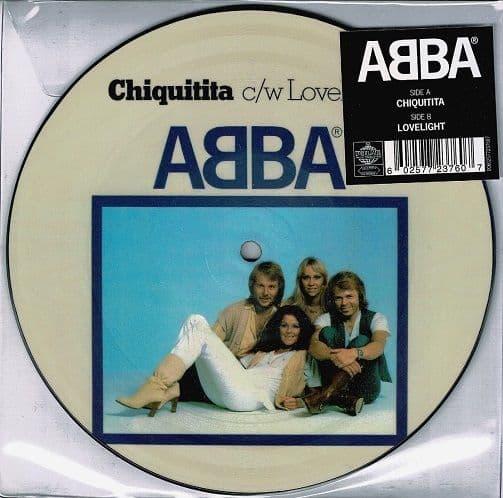 ABBA Chiquitita Vinyl Record 7 Inch Polar 2019 Picture Disc