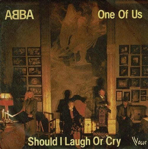 ABBA One Of Us Vinyl Record 7 Inch French Vogue 1981