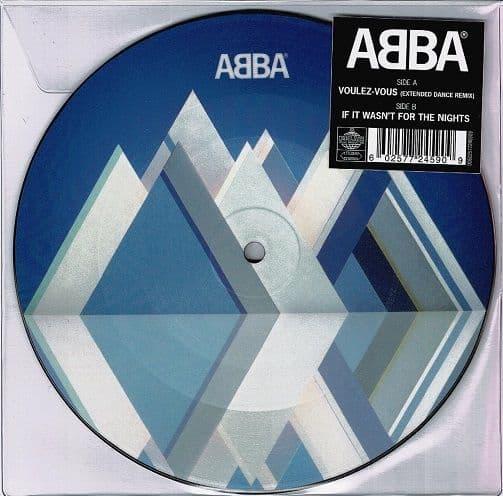 ABBA Voulez-Vous (Extended Dance Remix) Vinyl Record 7 Inch Polar 2019 Picture Disc
