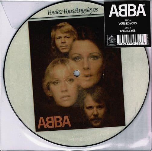 ABBA Voulez-Vous Vinyl Record 7 Inch Polar 2019 Picture Disc