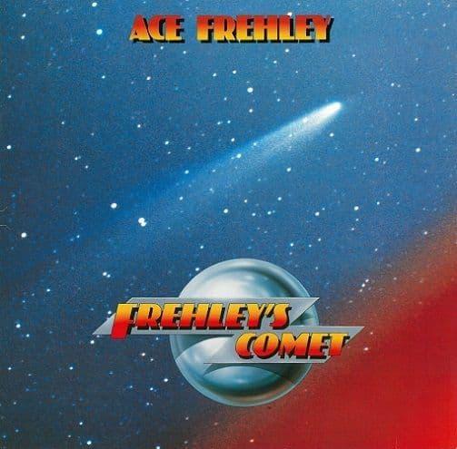 ACE FREHLEY Frehley's Comet Vinyl Record LP Megaforce Worldwide 1987