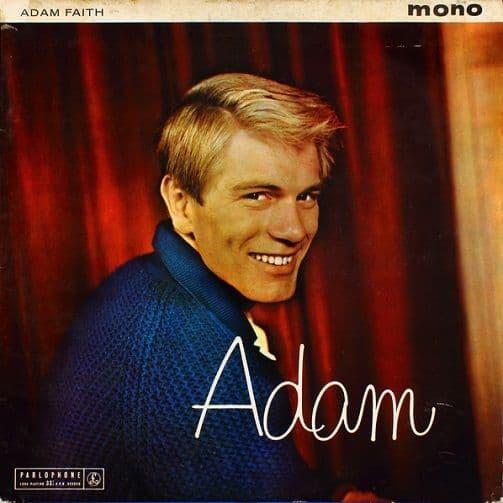 ADAM FAITH Adam Vinyl Record LP Parlophone 1960