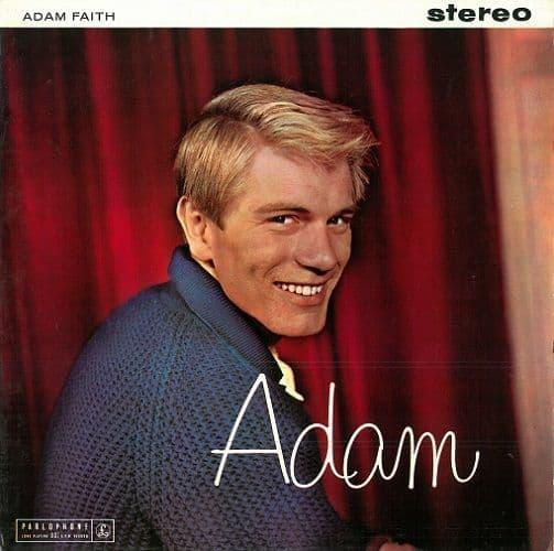 ADAM FAITH Adam Vinyl Record LP Parlophone 1960.