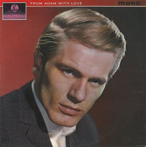 ADAM FAITH From Adam With Love Vinyl Record LP Parlophone 1962
