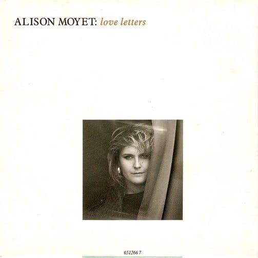 ALISON MOYET Love Letters Vinyl Record 7 Inch Dutch CBS 1987