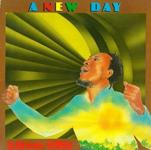 ALTON ELLIS A New Day Vinyl Record LP Body Music 1983