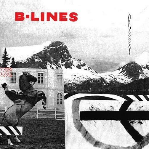 B-LINES B-Lines Vinyl Record LP Deranged 2011