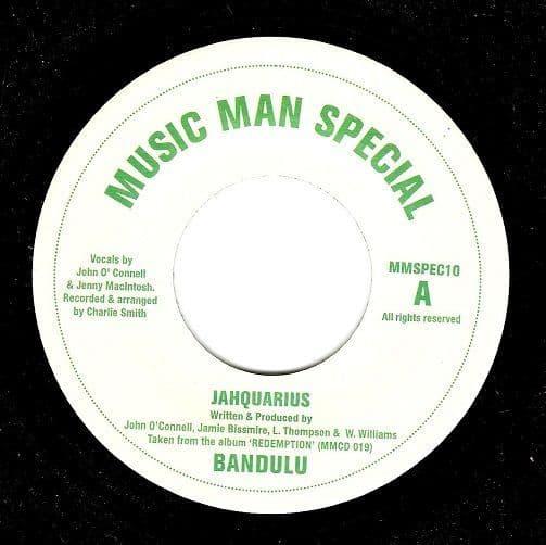 BANDULU Jahquarius Vinyl Record 7 Inch Belgian Music Man Special 2002