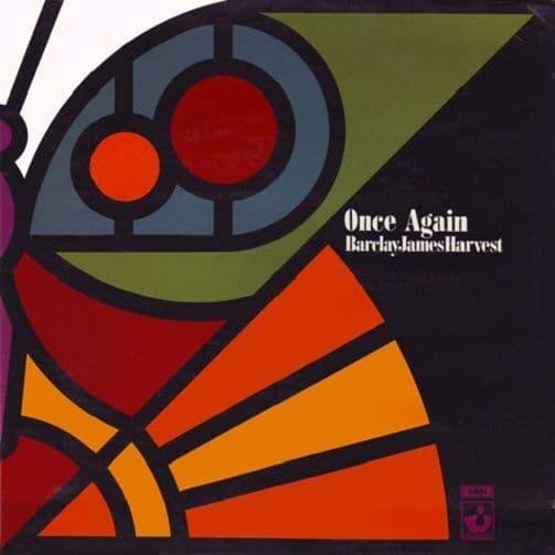 BARCLAY JAMES HARVEST Once Again Vinyl Record LP Harvest