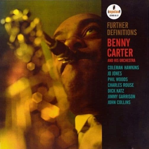BENNY CARTER Further Definitions Vinyl Record LP Impulse 2017