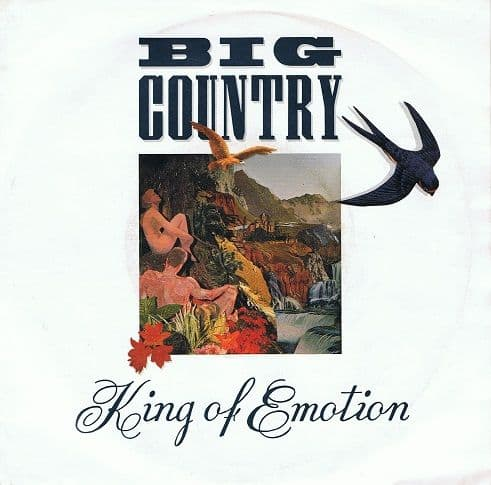 "BIG COUNTRY King Of Emotion 7"" Single Vinyl Record 45rpm Mercury 1988"