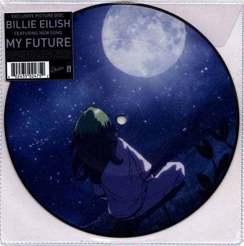 BILLIE EILISH My Future Vinyl Record 7 Inch Interscope 2020 Picture Disc