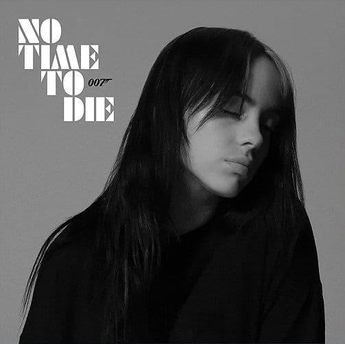BILLIE EILISH No Time To Die Vinyl Record 7 Inch Darkroom 2020 Ice Vinyl