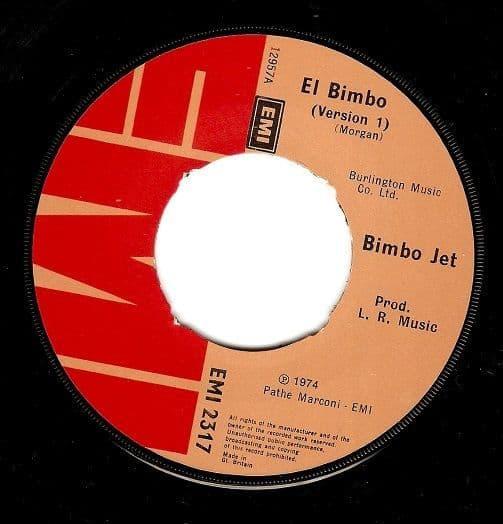 BIMBO JET El Bimbo Vinyl Record 7 Inch EMI 1974