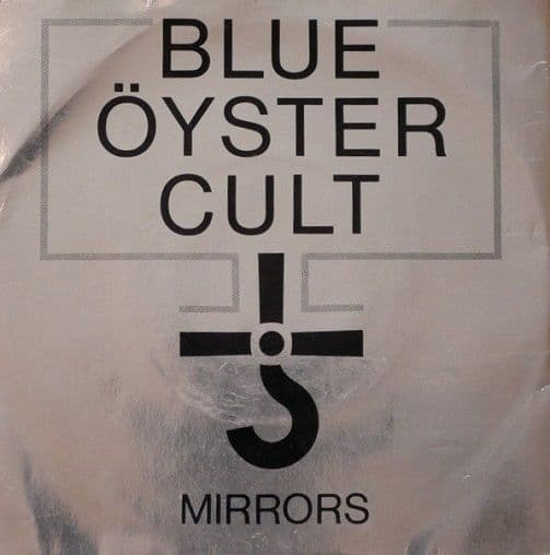 BLUE OYSTER CULT Mirrors Vinyl Record 7 Inch CBS 1979 Clear Vinyl