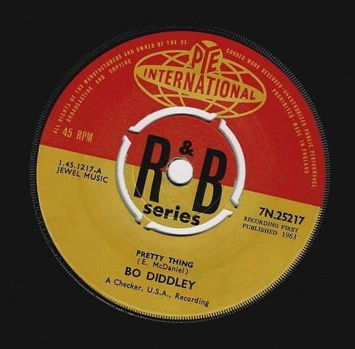 BO DIDDLEY Pretty Thing Vinyl Record 7 Inch Pye 1963